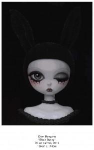 2010-07-28 Chen Hongzhu Black Bunny